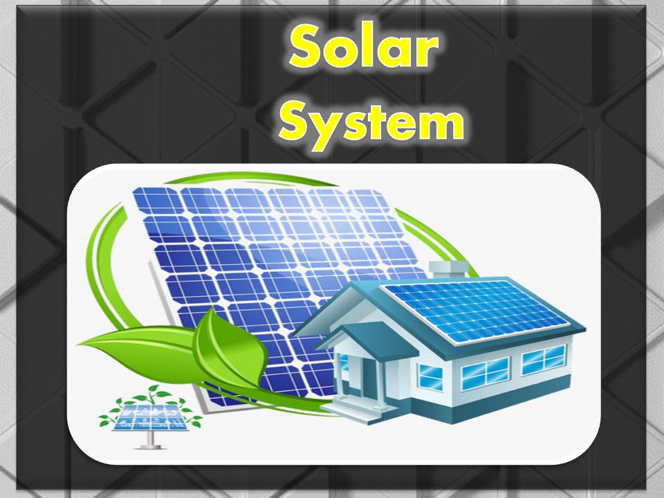 تصميم أنظمة الطاقة الشمسية