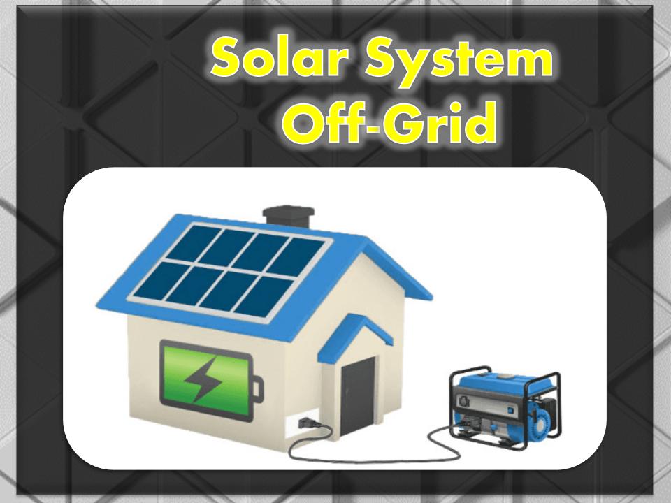 إحترف الطاقة شمسية- OffGrid